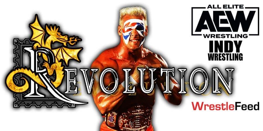 Sting AEW Revolution 2021 PPV Match WrestleFeed App