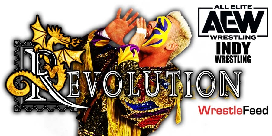 Sting Victorious At AEW Revolution 2021 WrestleFeed App