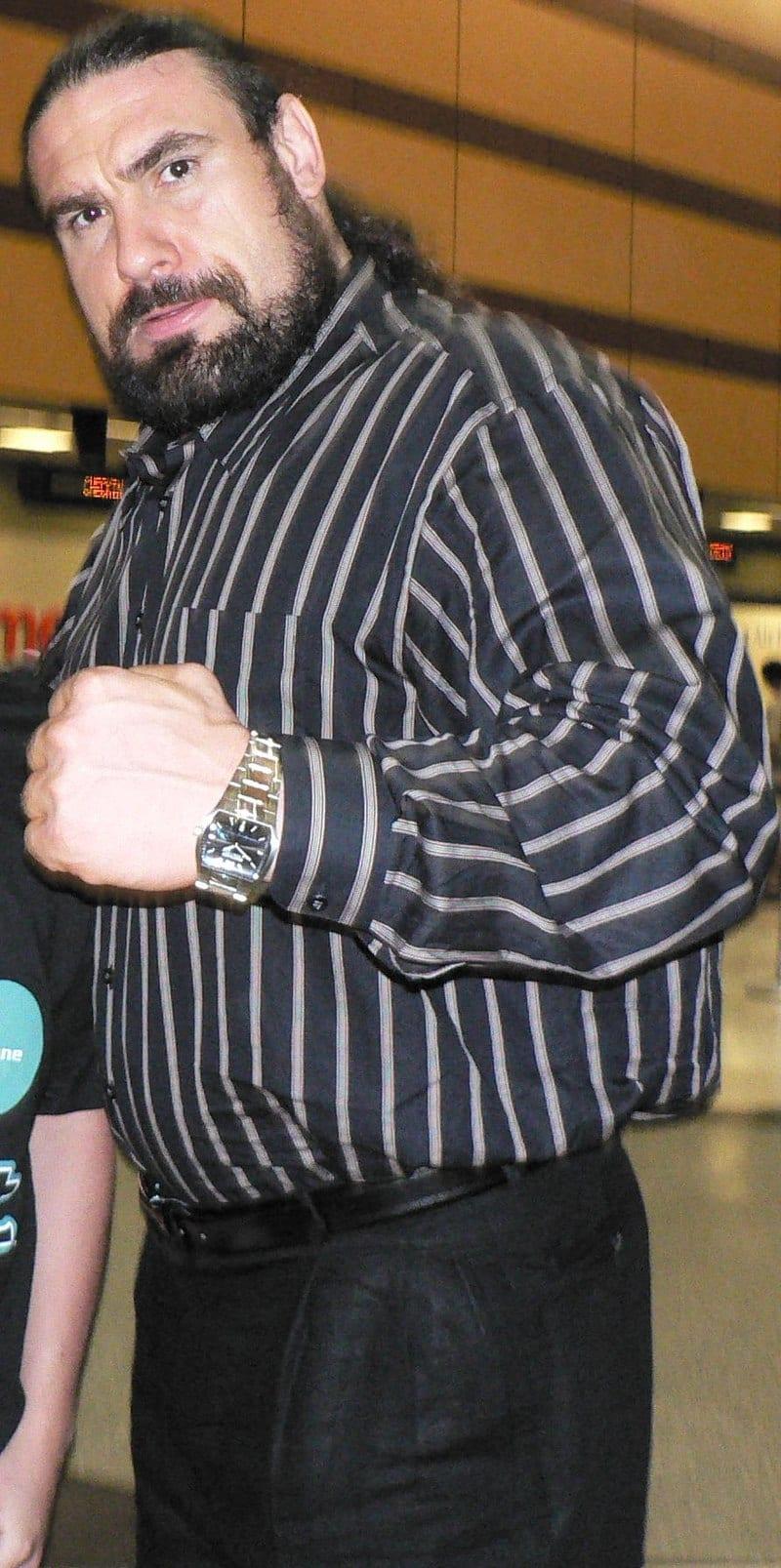 Sylvester Terkay WWE Superstar Wrestler MMA Fighter