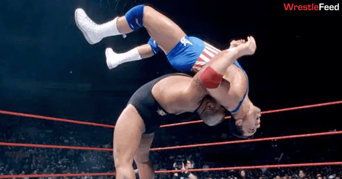 Tazz Suplex Kurt Angle WWF WrestleFeed App