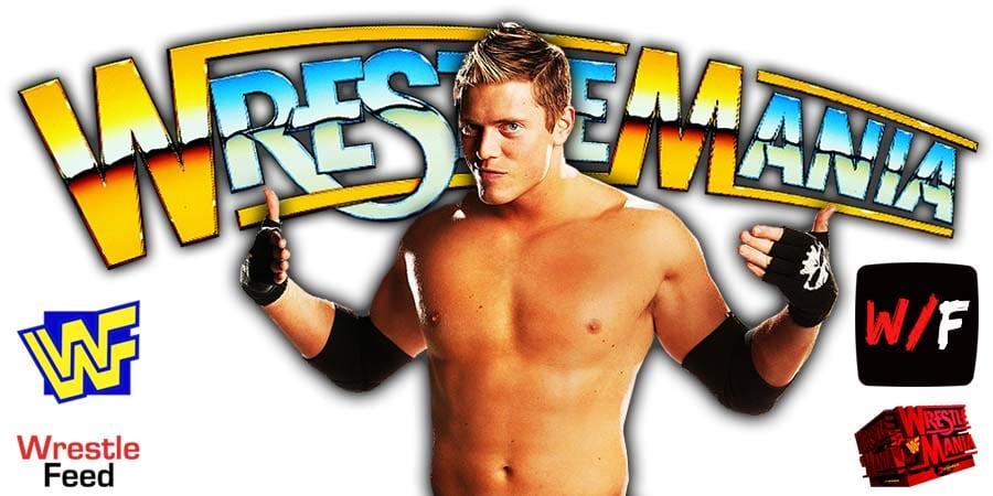 The Miz WWE WrestleMania 37 WrestleFeed App
