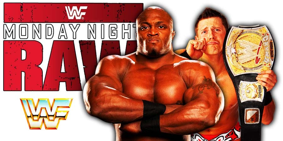 The Miz vs Bobby Lashley WWE Championship Match RAW WrestleFeed App