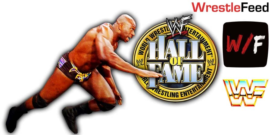 Titus O'Neil WWE Hall Of Fame Class Of 2021 WrestleFeed App