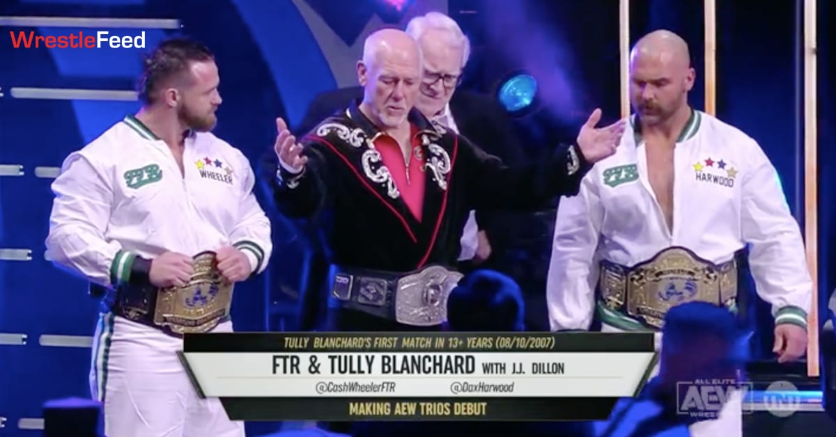 Tully Blanchard FTR JJ Dillon AEW Dynamite WrestleFeed App