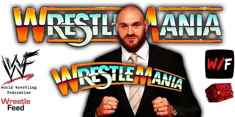 Tyson Fury Was Scheduled To Work WrestleMania 36 WrestleFeed App
