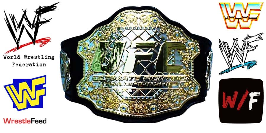 UFC Ultimate Fighting Championship Title Belt Article Pic 2 WrestleFeed App