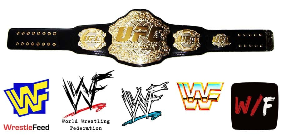UFC Ultimate Fighting Championship Title Belt Article Pic 1 WrestleFeed App