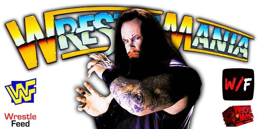 Undertaker WrestleMania 37 WrestleFeed App