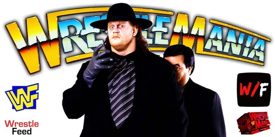 Undertaker - with Paul Bearer WrestleMania WrestleFeed App