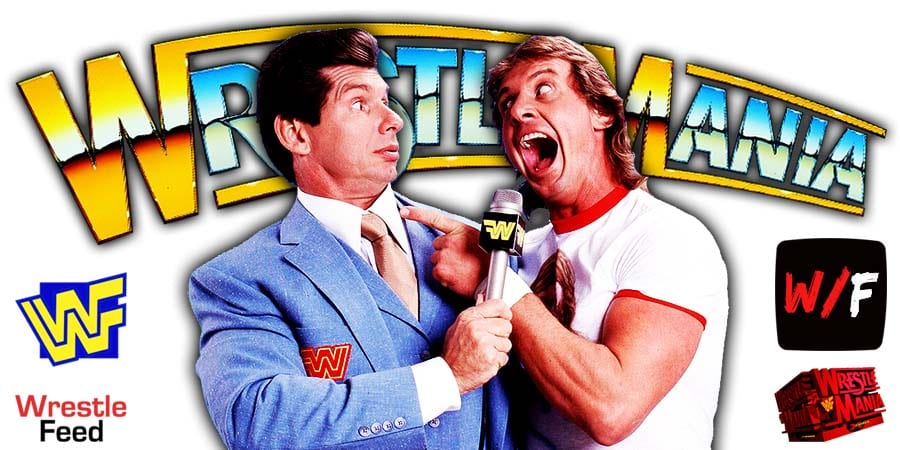 Vince McMahon Roddy Piper WrestleMania WrestleFeed App