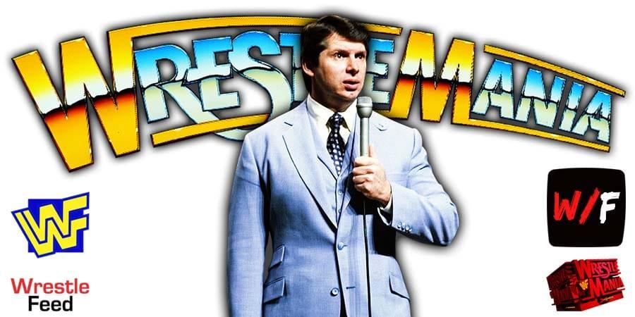 Vince McMahon WWE WrestleMania 37 PPV WrestleFeed App