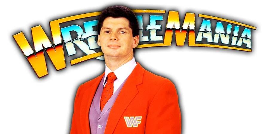 Vince McMahon WrestleMania 37 PPV WrestleFeed App