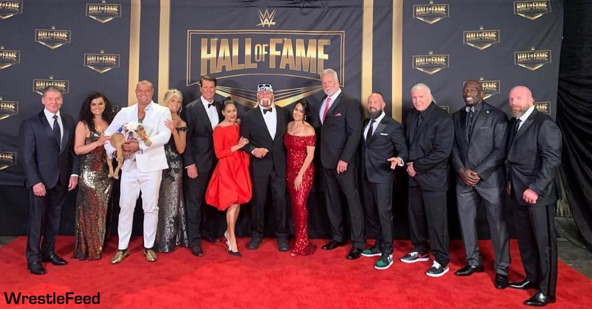 WWE Hall Of Fame Class Of 2020 Group Photo Of Inductees WrestleFeed App