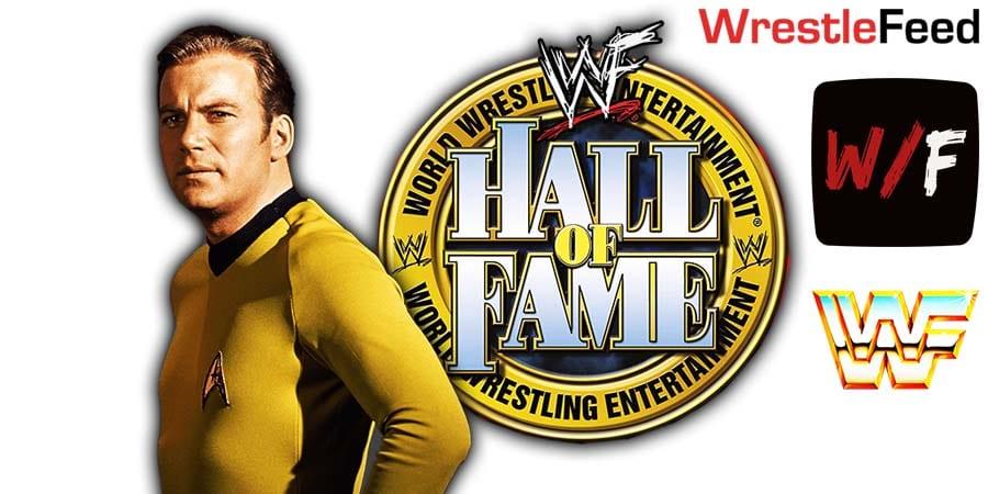 William Shattner WWE Hall Of Fame WrestleFeed App