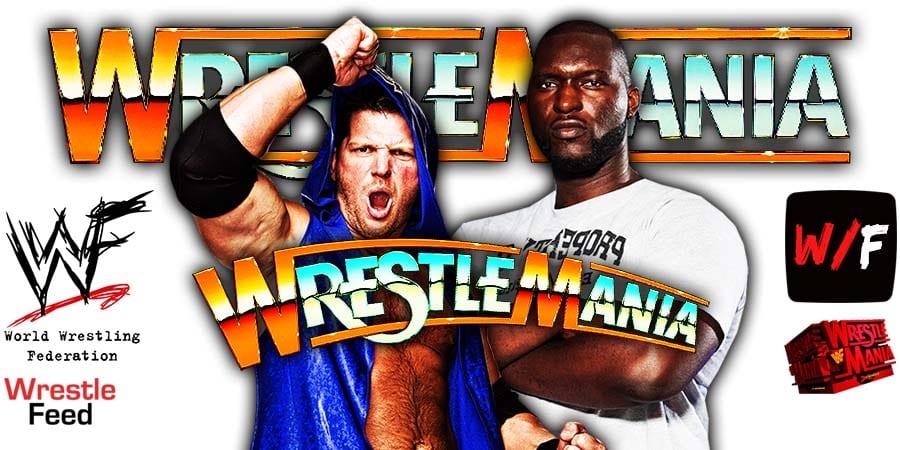 AJ Styles Omos Win At WrestleMania 37 WrestleFeed App