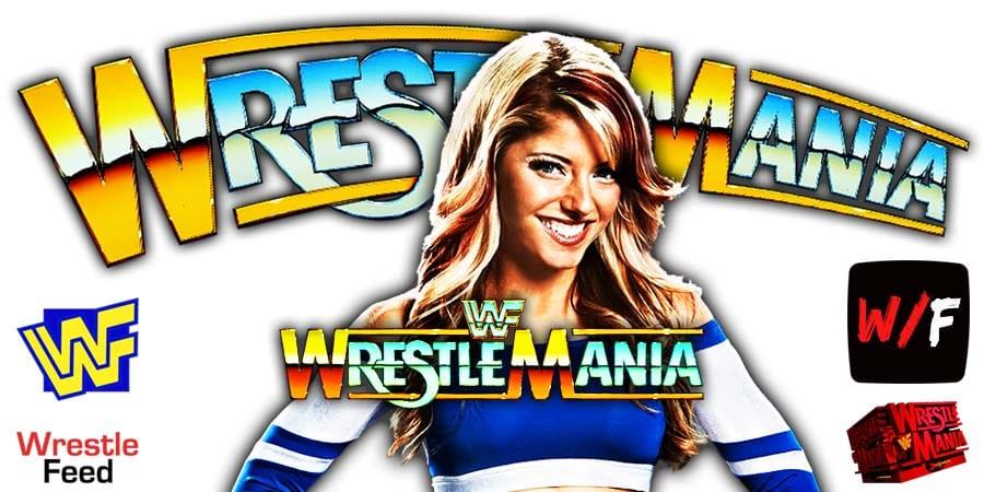 Alexa Bliss WrestleMania 37 WrestleFeed App