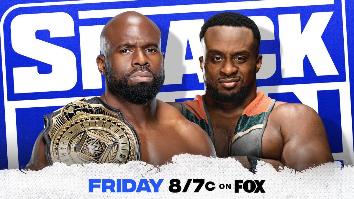 Apollo Crews vs Big E for the Intercontinental Championship SmackDown