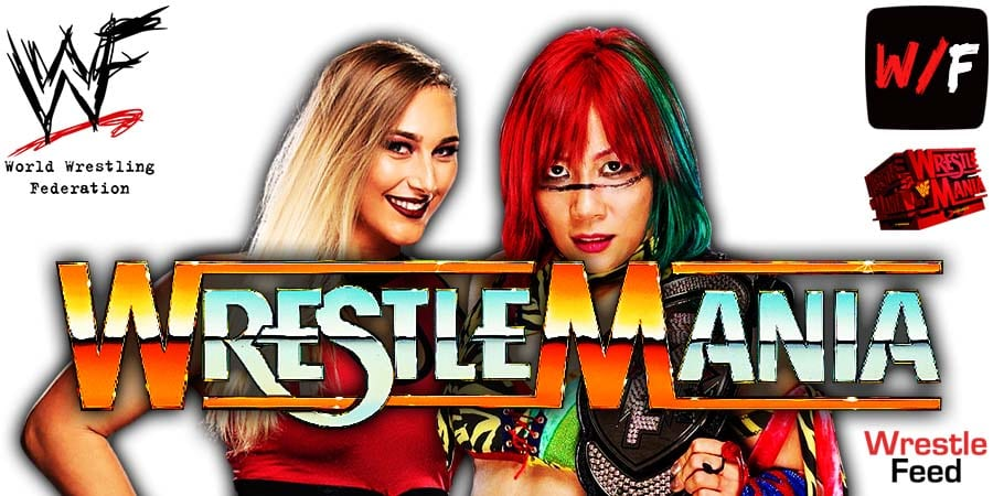 Asuka's Losing Streak Continued At WrestleMania 37 After Loss To Rhea Ripley WrestleFeed App