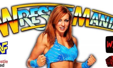 Becky Lynch WrestleMania 37 PPV WrestleFeed App