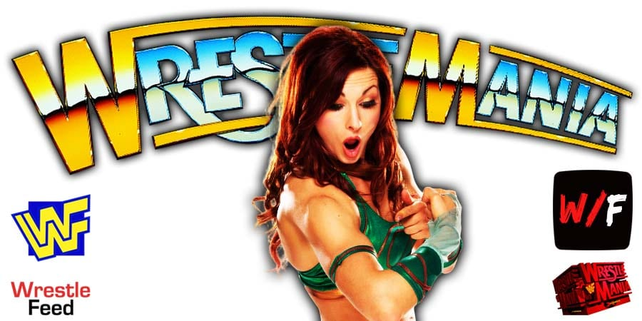 Becky Lynch WrestleMania 37 WrestleFeed App