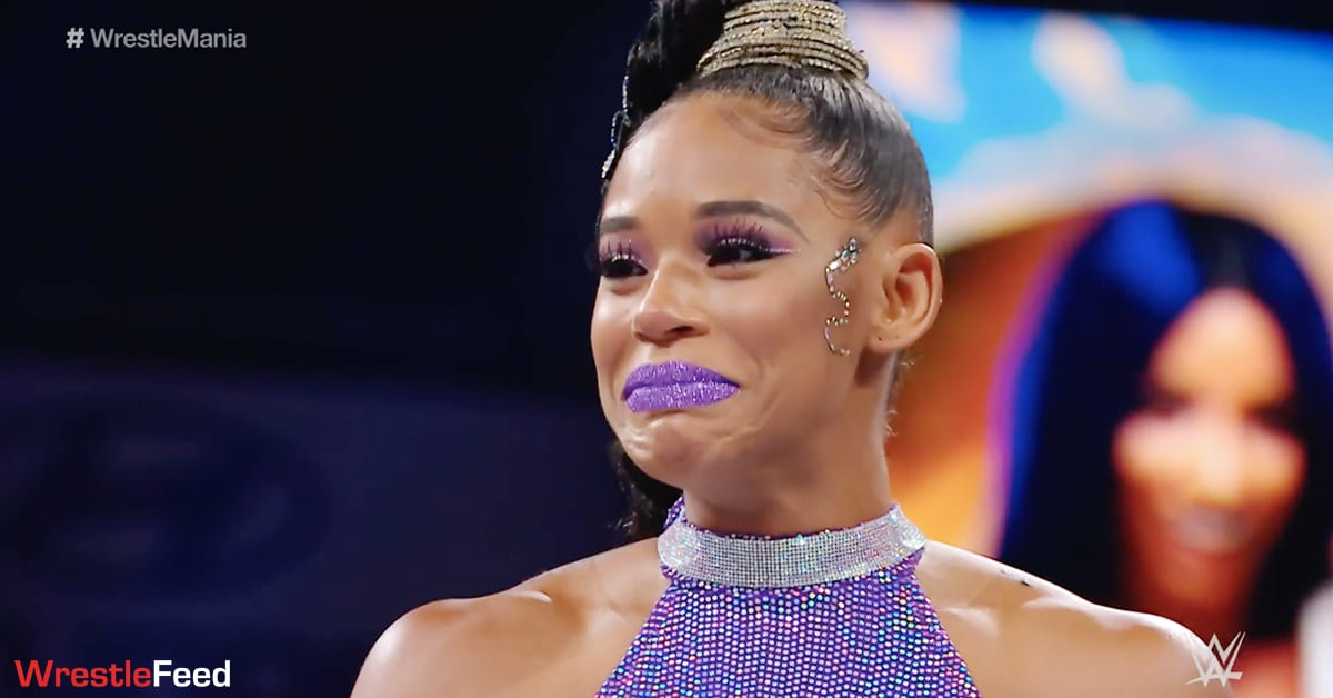 Bianca Belair Emotional WrestleMania 37 WrestleFeed App