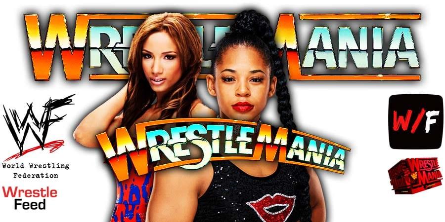 Bianca Belair defeats Sasha banks at WrestleMania 37 WrestleFeed App