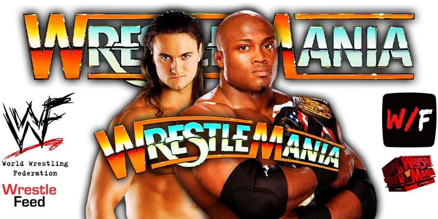 Bobby Lashley defeats Drew McIntyre at WrestleMania 37 WrestleFeed App