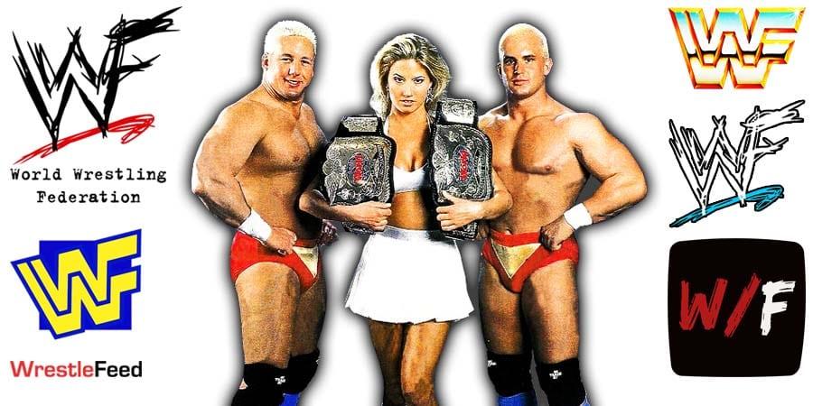 Body Donnas - Sunny & Tom Prichard & Chris Candido - Zip & Skip Article Pic 1 WrestleFeed App