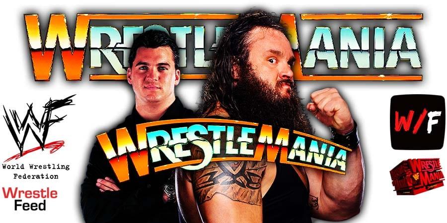 Braun Strowman Defeats Shane McMahon At WrestleMania 37 WrestleFeed App