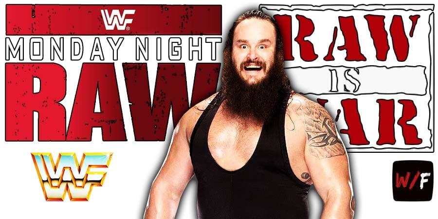 Braun Strowman RAW Article Pic 4 WrestleFeed App