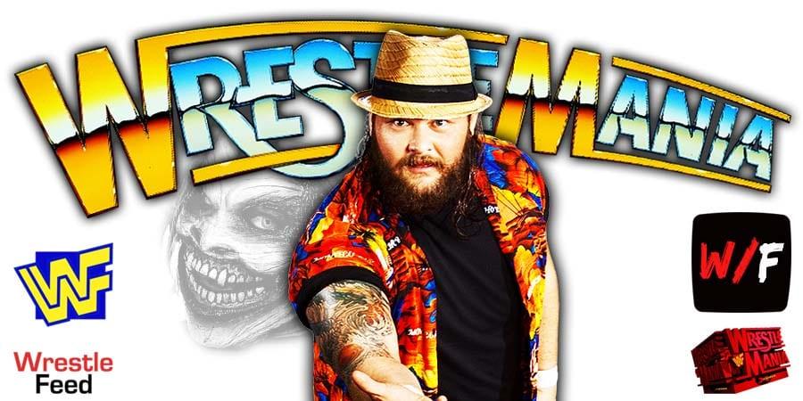 Bray Wyatt Fiend WWE WrestleMania 37 WrestleFeed App