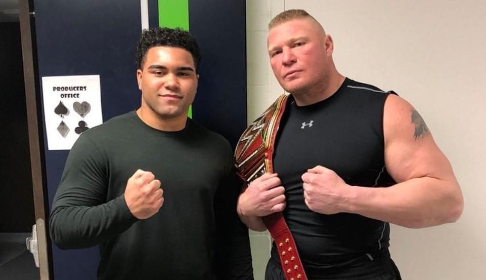 Brock Lesnar Gable Steveson - 2