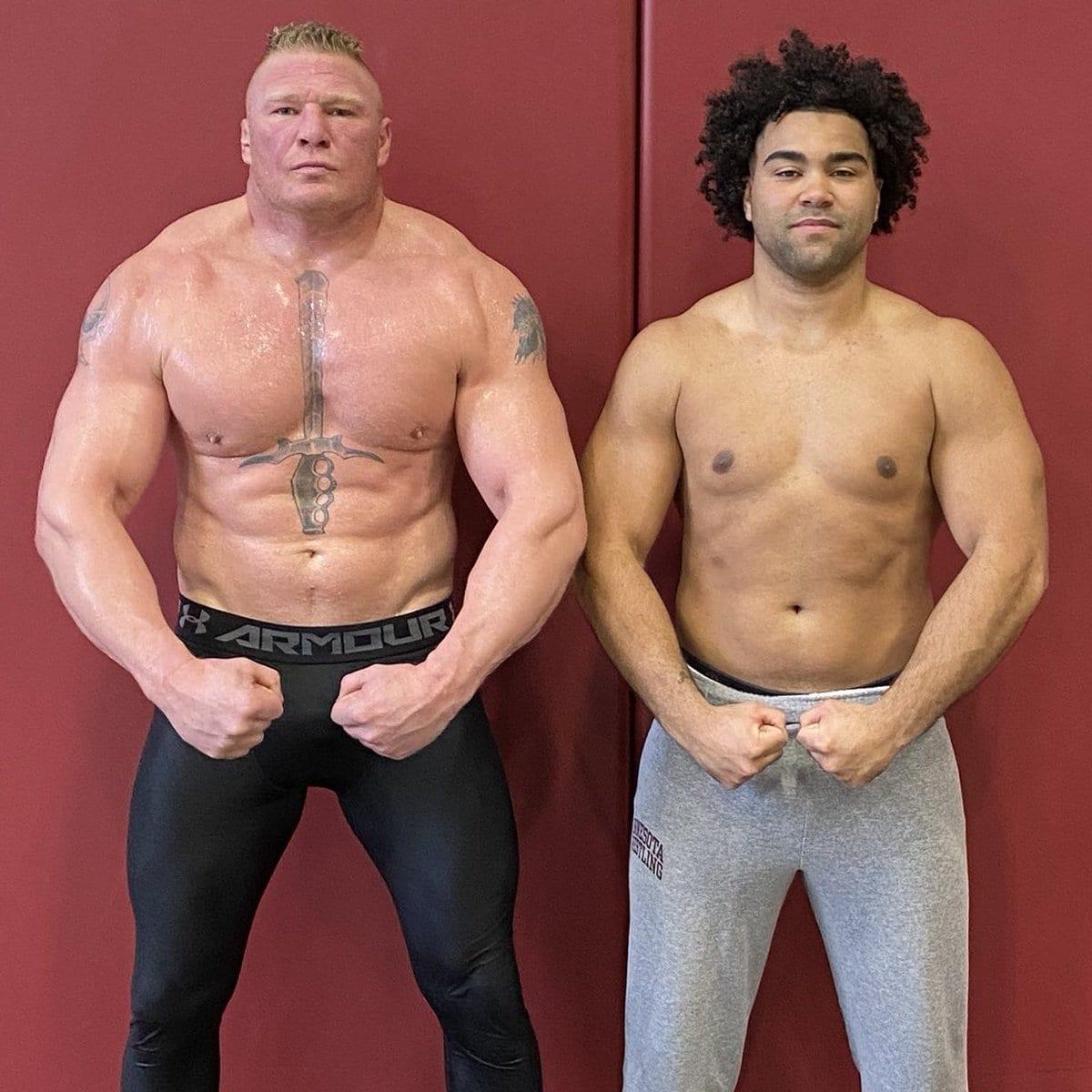 Brock Lesnar Gable Steveson - 3