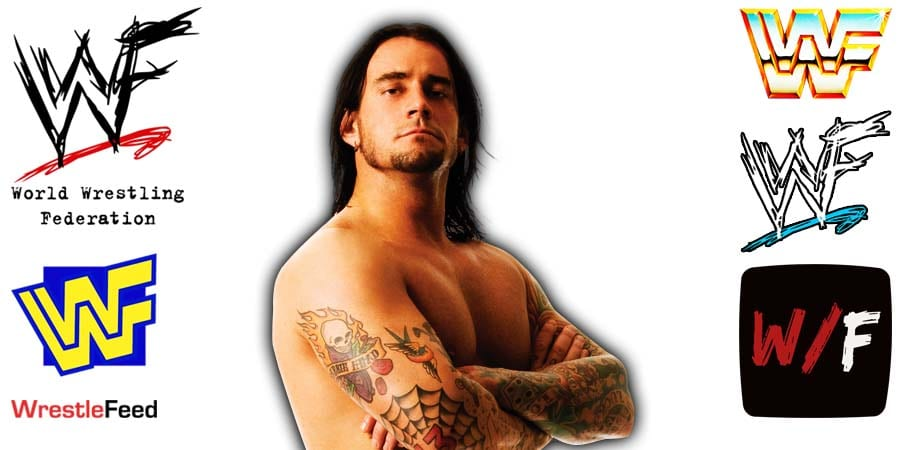 CM Punk Long Hair Article Pic 6 WrestleFeed App