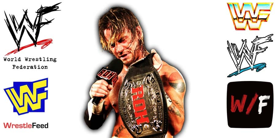 CM Punk Long Hair ROH Champion Article Pic 8 WrestleFeed App