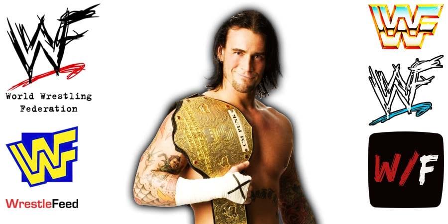 CM Punk Long Hair World Heavyweight Champion Article Pic 7 WrestleFeed App
