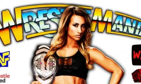 Carmella Wardrobe Malfunction WrestleMania 37 Night 1 WrestleFeed App