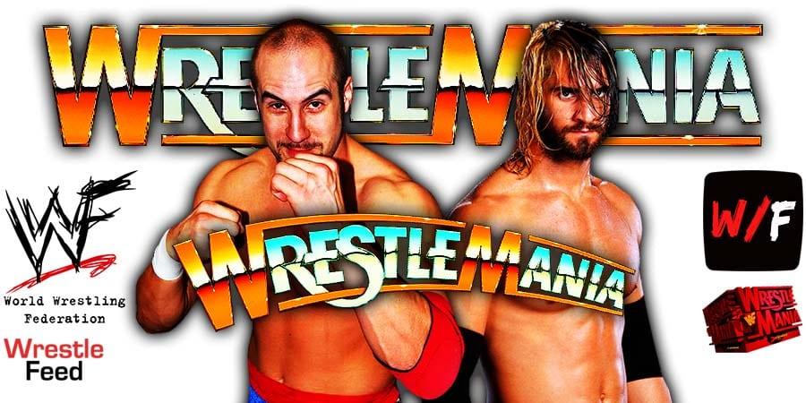 Cesaro Defeats Seth Rollins At WrestleMania 37 WrestleFeed App