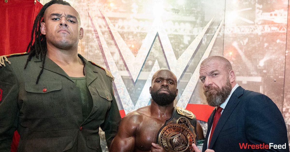Commander Azeez Dabba-Kato Babatunde Apollo Crews Intercontinental Champion Triple H WrestleFeed App