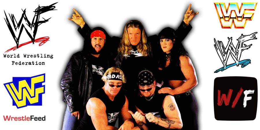 D-Generation X - DX - HHH Triple H Chyna X-Pac Billy Gunn Road Dogg Article Pic 1 WrestleFeed App