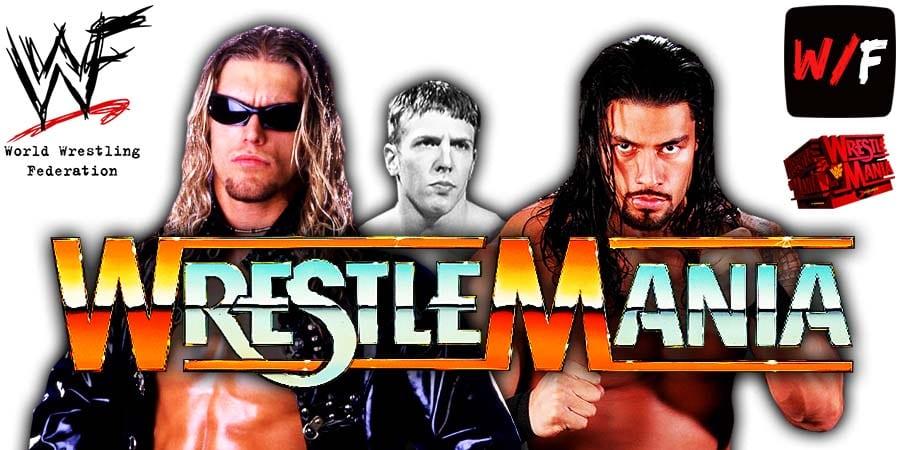 Edge Daniel Bryan Roman Reigns WrestleMania 37 WrestleFeed App