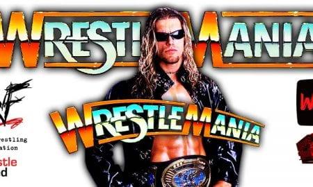 Edge Gets Pinned At WrestleMania 37 WrestleFeed App