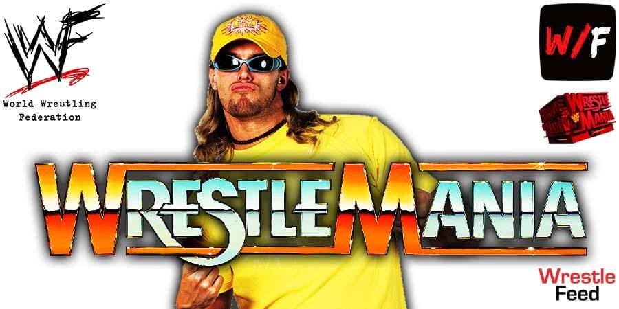 Edge WWE WrestleMania 37 PPV Match WrestleFeed App