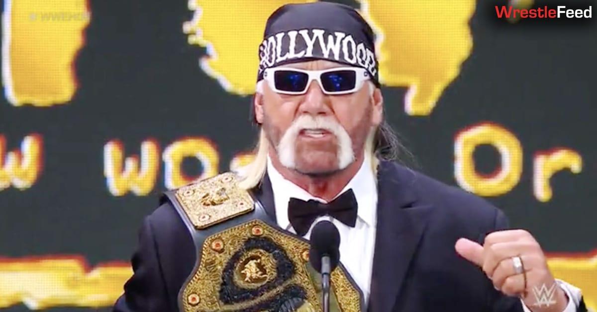 Hollywood Hulk Hogan Big Gold Belt WCW World Heavyweight Championship nWo WWE Hall Of Fame WrestleFeed App