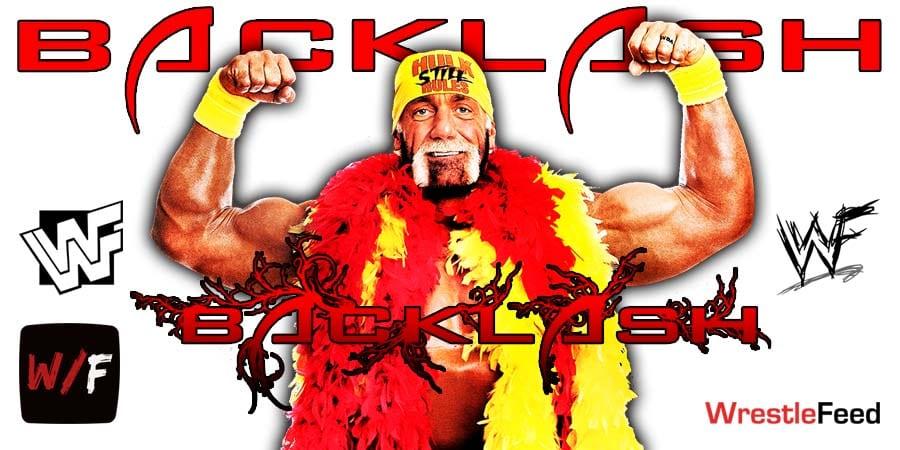 Hollywood Hulk Hogan WWF Backlash 2002 WrestleFeed App