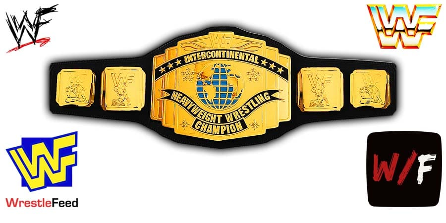 Intercontinental Championship WWF IC Title belt Article Pic 1 WrestleFeed App