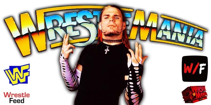 Jeff Hardy WrestleMania 37 WrestleFeed App