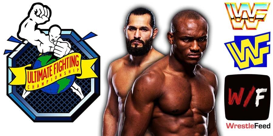 Kamaru Usman defeats Jorge Masvidal at UFC 261 WrestleFeed App