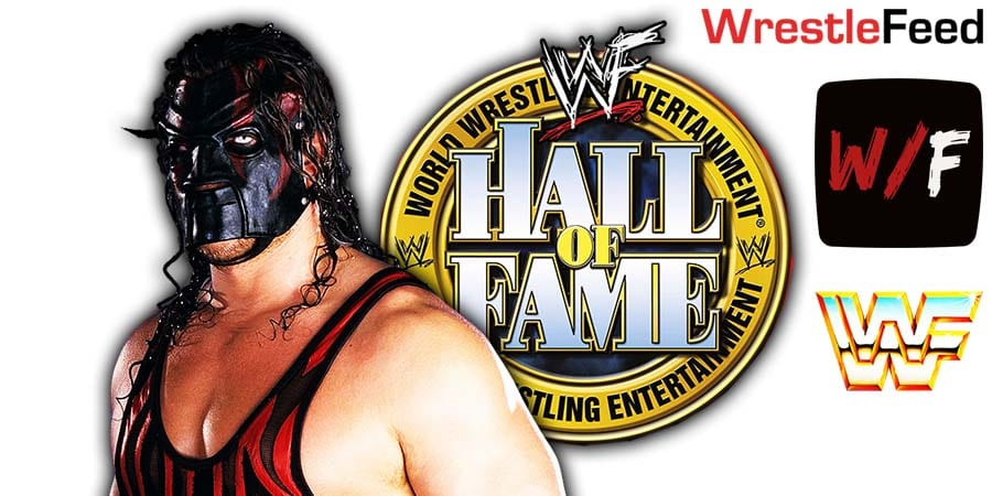 Kane WWE Hall Of Fame Class Of 2021 Inductee WrestleFeed App