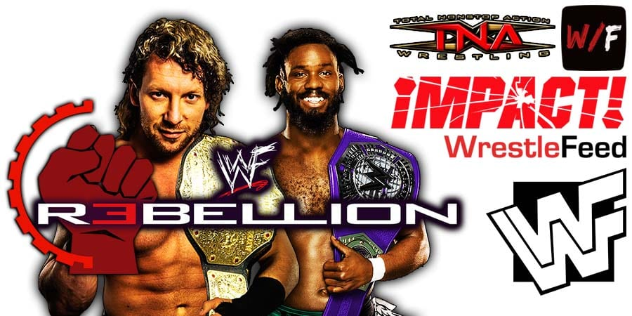 Kenny Omega defeats Rich Swann at Impact Wrestling Rebellion WrestleFeed App